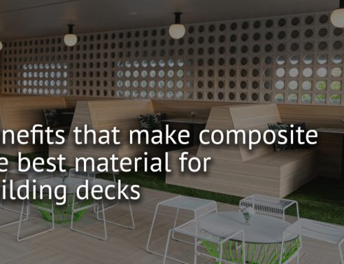 Benefits that Make Composite the Best material for Building Decks