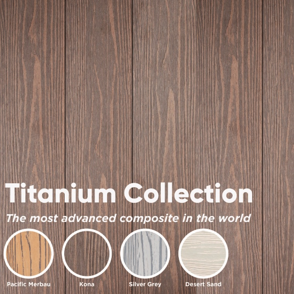 Gold standard Composite Decking